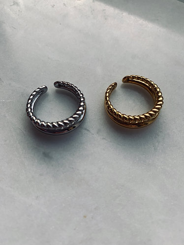 LETTY RING - GOLD & SILVER