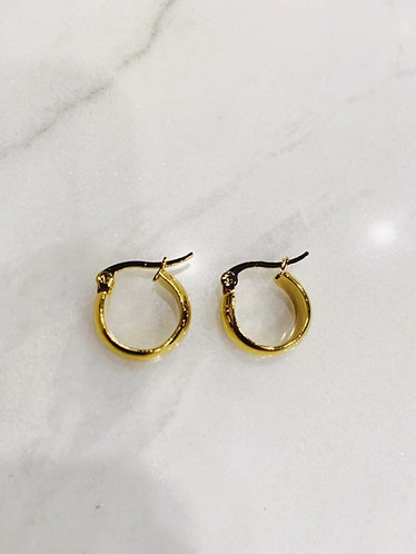 CLASSIC HOOPS GOLD/ SILVER