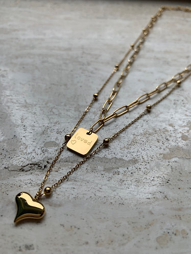 SUSANNA NECKLACE - GOLD