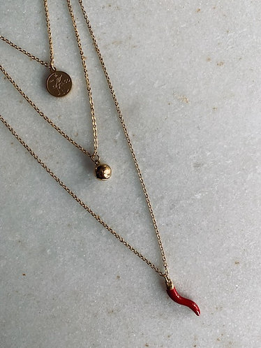 ANNE NECKLACE - GOLD & SILVER