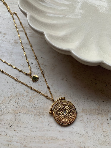 TAMMY NECKLACE - GOLD