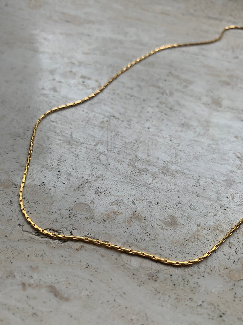 THIN NECKLACE GOLD/SILVER