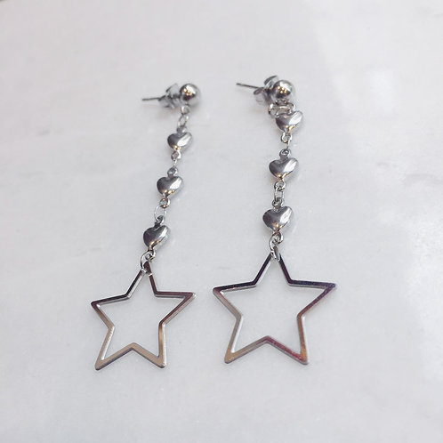 I'M A STAR BABY EARRINGS - SILVER