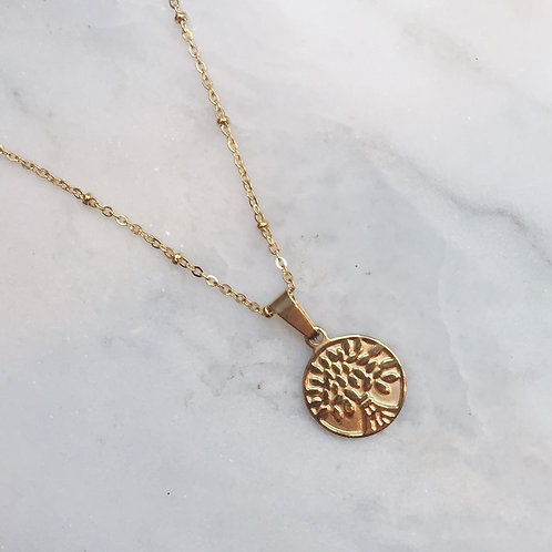 WILL NEVER LEAF YOU NECKLACE