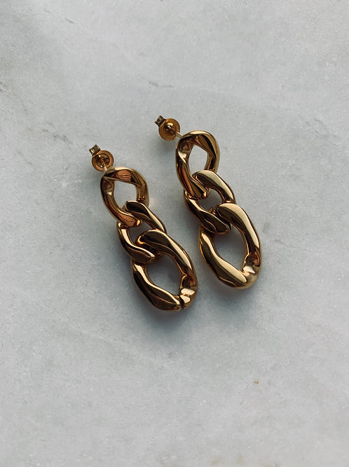 PRE ORDER - LEO EARRINGS - GOLD