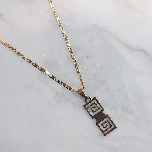 TAKE ME TO GREECE NECKLACE