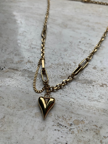 ROSA NECKLACE - GOLD & SILVER