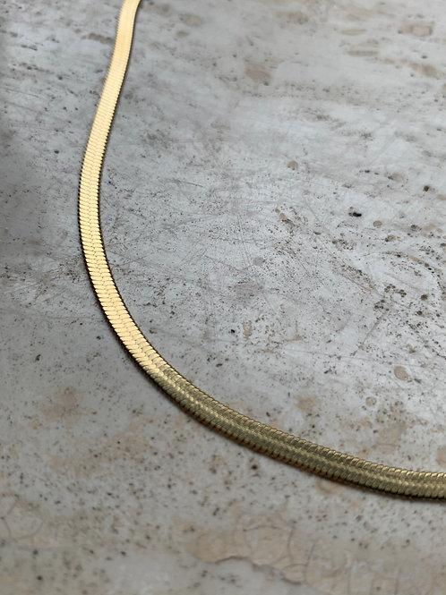 FLAT CHAIN BRACELET - GOLD/SILVER