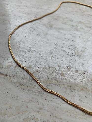 SMALL SNAKE NECKLACE GOLD/SILVER