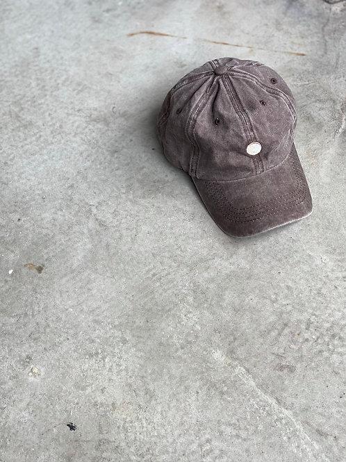 ROCKY ROSA - YIN YANG CAP - BROWN