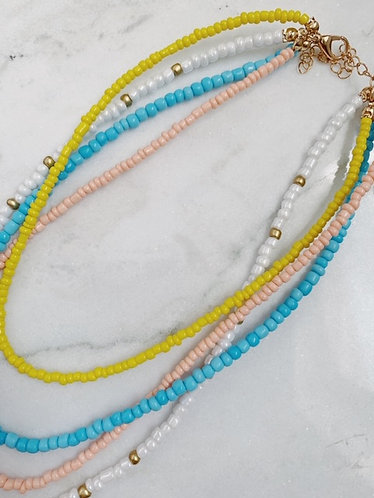 (LIMITED STOCK) 4 IN 1 BEAD NECKLACE