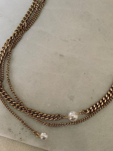 CAROLINE NECKLACE - GOLD