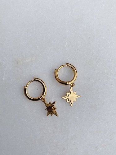 CLASSIC COLLECTION - FALLING STAR HOOPS