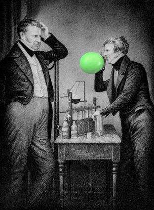 Michael Faraday o balonima