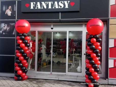 Dekoracija balonima za otvaranje preduzeća