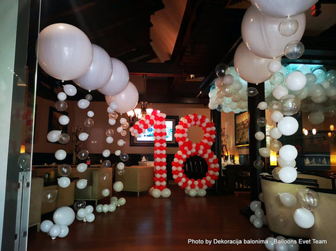 rodjendanski baloni -dekoracija balonima
