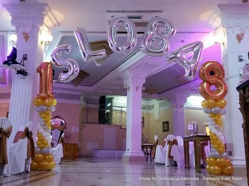 Dekoracija balonima - Balloons EVENT TEAM