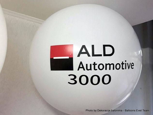 Korporacijski baloni - Dekoracija baloni