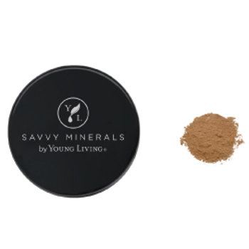 Foundation Powder-Savvy Minerals by Young Living - Dark No 2 (US)
