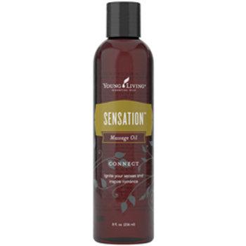 Sensation Massage Oil 8oz (US)