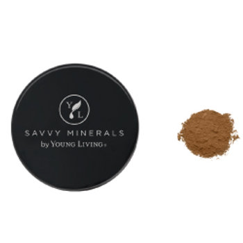 Foundation Powder-Savvy Minerals by Young Living - Dark No 3 (US)