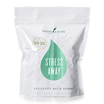 Stress Away Relaxing Bath Bombs 4pk (US)