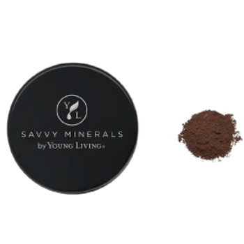 Foundation Powder-Savvy Minerals by Young Living - Dark No 4 (US)