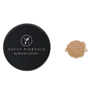 Foundation Powder-Savvy Minerals by Young Living - Dark No 1 (US)