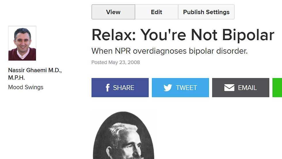 Bipolar controversies: Adults
