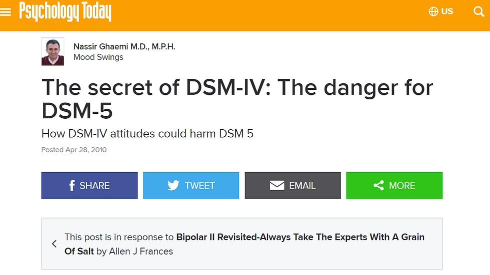 DSM debates - Volume I