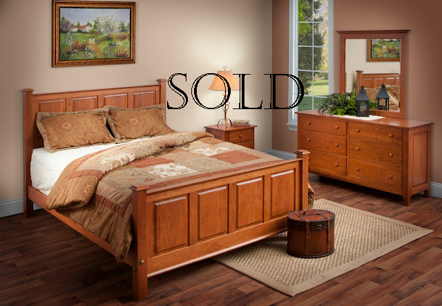 Sold Shaker Bedroom Sle