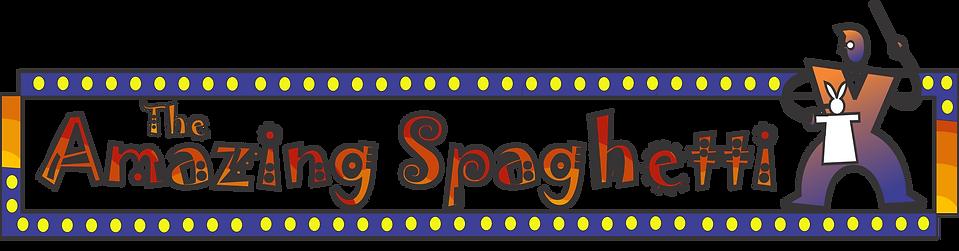 The Amazing Spaghetti - Magician Dan Freed logo
