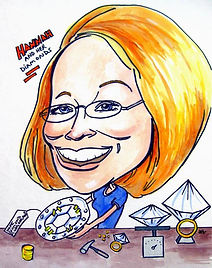 Sample custom caricature done from photo