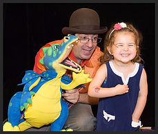 Preschool magic and puppet show with The Amazing Spaghetti - Magician & Entertainer