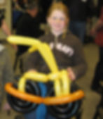 Balloon twisters can be really entertaining when done by West Chester PA based kids entertainer The Amazing Spaghetti