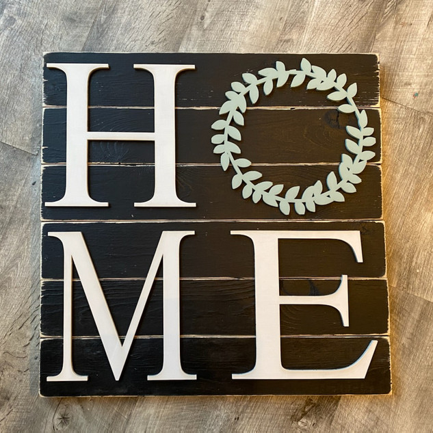 3D Home Wreath