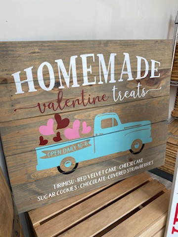 Homemade Treats Truck Sign