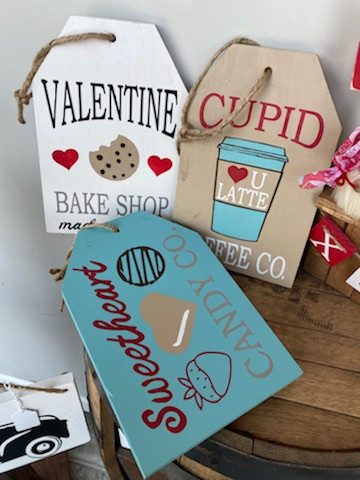 Valentines Tags set of #