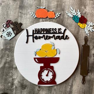 interchangeable Happiness is homemade ro