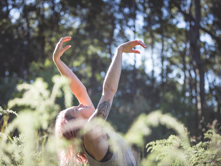 Why do we rebound in yin yoga?