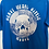 Thumbnail: Blue - Vinyl Logo Front/Back