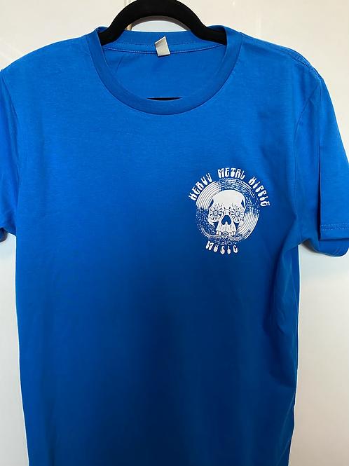 Blue - Vinyl Logo Front/Back