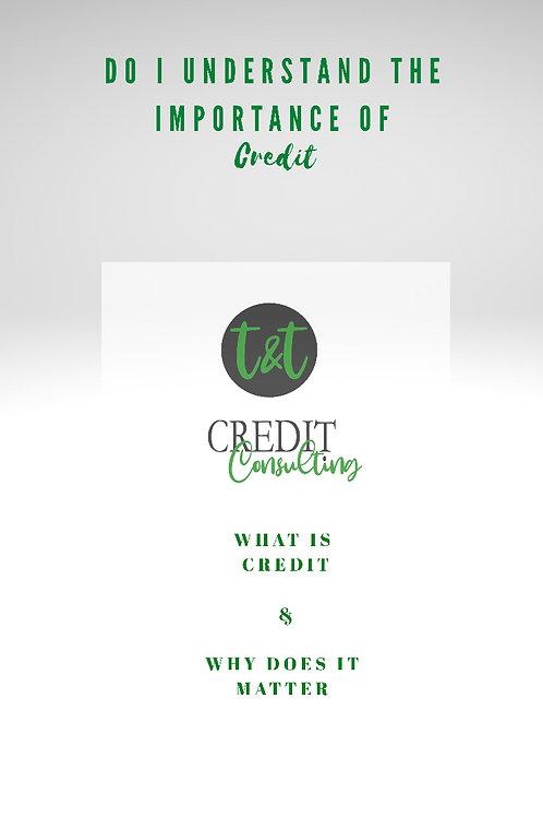 Do I Understand Credit?