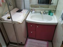 陶器製洗面台