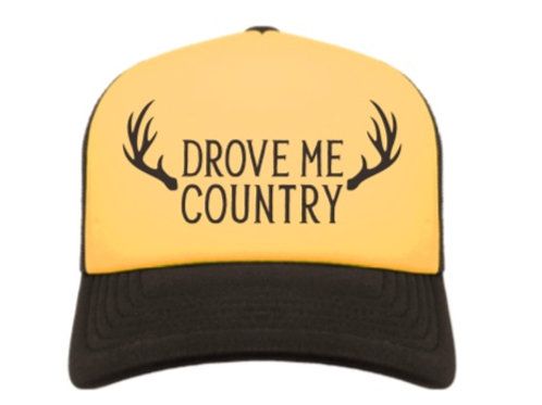 DROVE ME COUNTRY HAT