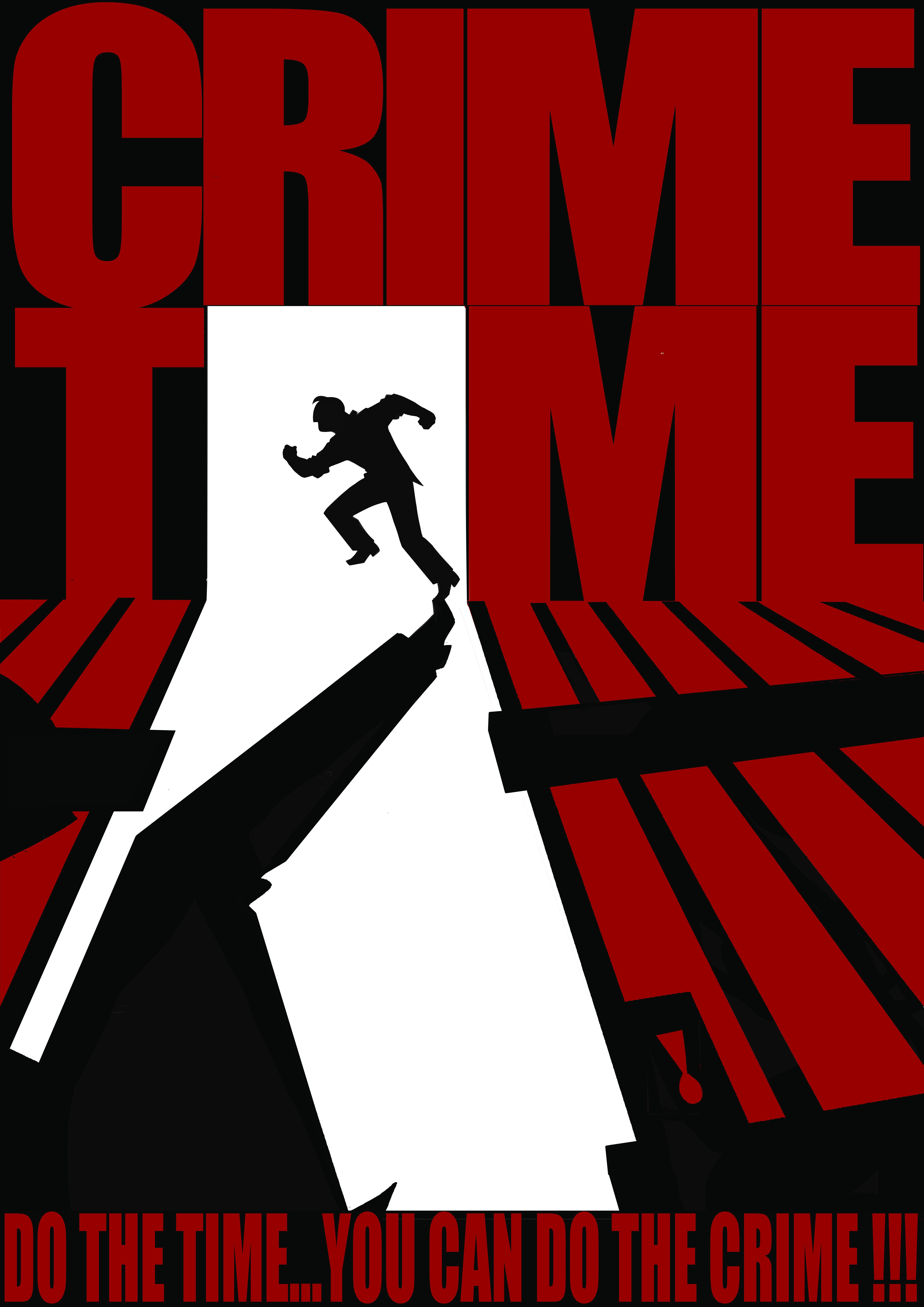 Crime Time Concept Poster 2017