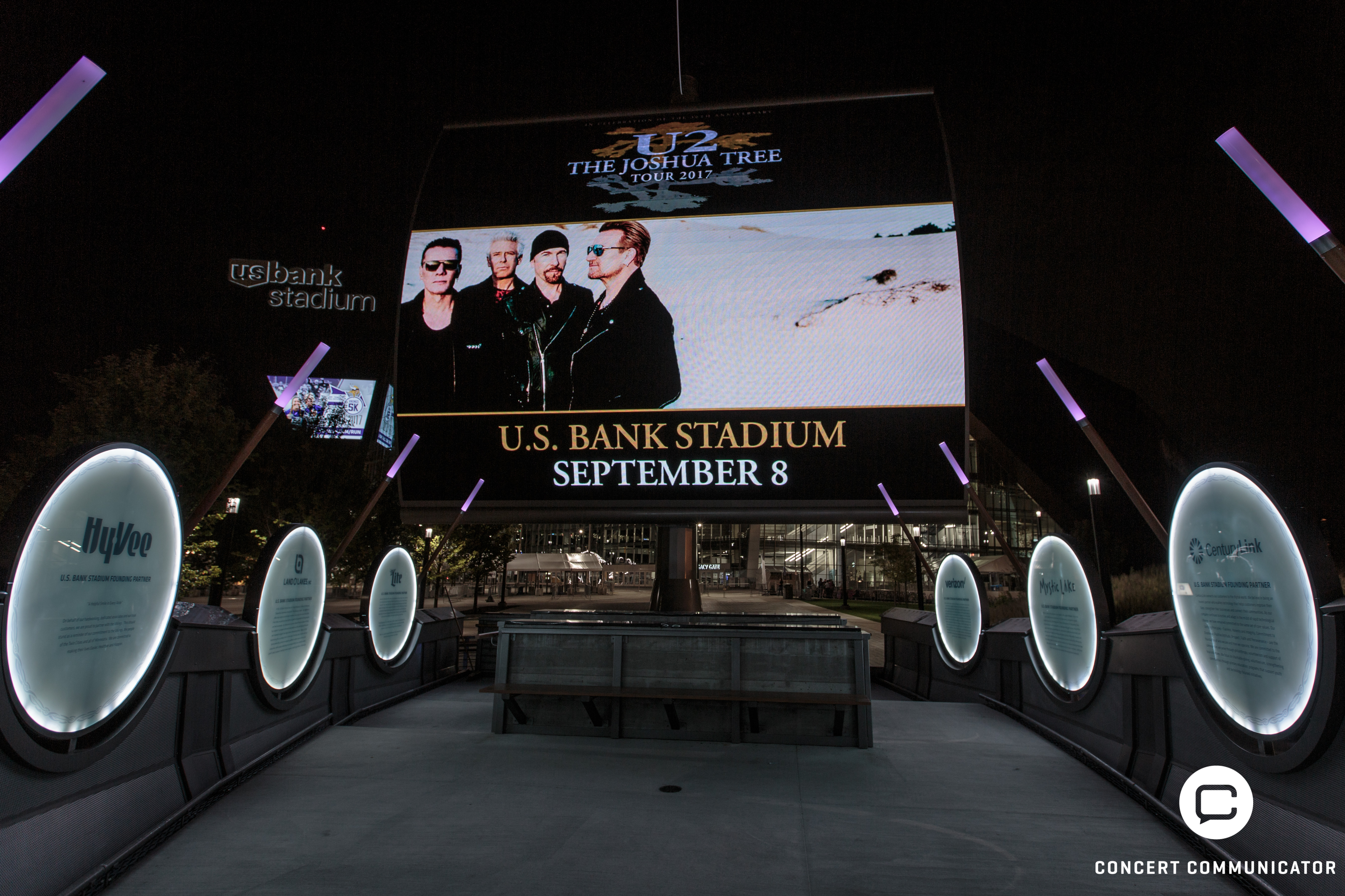 U2 @ US Bank Stadium