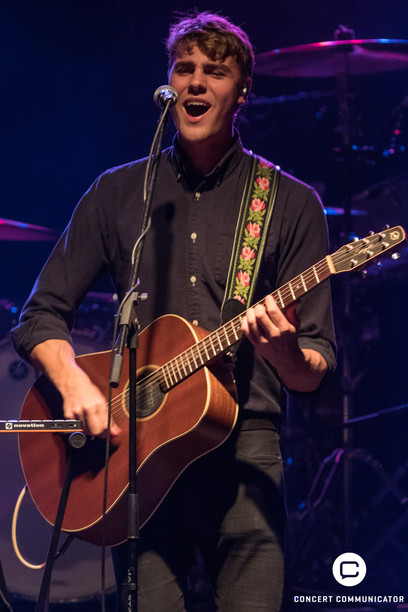 Hein Cooper opens for Lukas Graham at Myth Live in Maplewood, MN 01/18/2017
