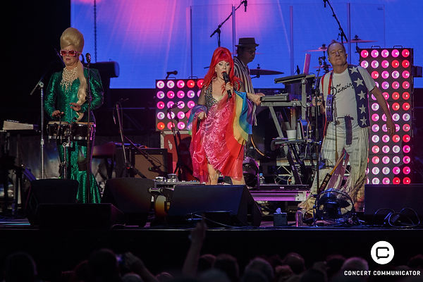 B-52's at Minnesota State Fair Grandstand 09/03/2018