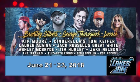 Lakes Jam 2018 Line-up Announced